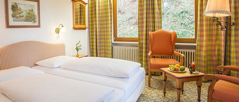 Landhotel St. Georg, Zell am See, Austria - austrian twin bedroom.jpg